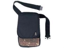 Bob Allen Superior Shotgun Shell Pouch and Hull Bag with Belt Nylon Black