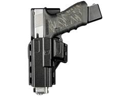 Uncle Mike's Reflex Competition Holster Left Hand Glock 17, 19, 22, 23 Polymer Black