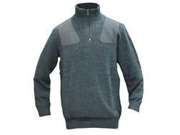 Beretta Women's Techno Windshield Half Zip Sweater Wool Black Forest Large