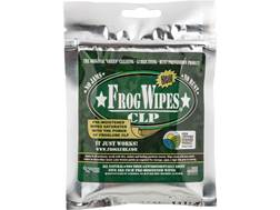 FrogLube CLP Bio-Based Cleaner, Lubricant, and Preservative Treated Wipes Package of 5