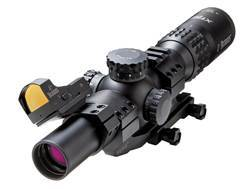 Burris Xtreme Tactical II Rifle Scope 30mm Tube 1-5x 24mm 1/10 Mil Adjustments Illuminated Ballistic 5.56 Gen3 Reticle with Fastfire III Red Dot and P.E.P.R. Mount Matte