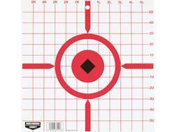"Birchwood Casey Rigid 12"" Crosshair Sight-In Tagboard Target Package of 10"