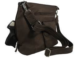 Gun Tote'N Mamas Flat Sac Concealed Carry Holster Handbag Small Frame Firearms Leather