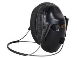 Pro Ears Pro 200 Behind-the-Head Electronic Earmuffs (NRR 19 dB) Black