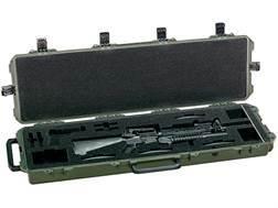 "Pelican Storm Single M16 or M4 iM3300 Gun Case with Pre-Scored Foam Insert 53-4/5"" x 16-1/2"" x 6-3/4"" Polymer"