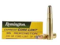 Remington Express Ammunition 35 Remington 200 Grain Core-Lokt Soft Point Box of 20