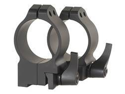 Warne 30mm Quick-Detachable Ring Mounts Ruger 77 Matte