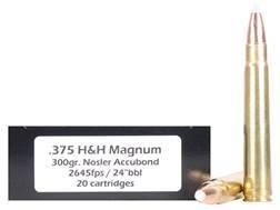 Doubletap Ammunition 375 H&H Magnum 300 Grain Nosler AccuBond Spitzer Box of 20