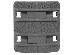 Magpul Picatinny Rail Cover XTM Enhanced Modular Polymer Stealth Gray Package of 4