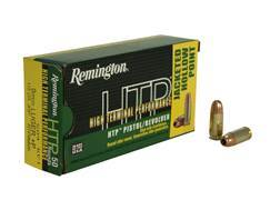 Remington High Terminal Performance Ammunition 9mm Luger +P 115 Grain Jacketed Hollow Point Box of 50