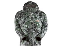 Sitka Gear Men's Downpour Jacket Polyester Gore Optifade Elevated Forest Camo
