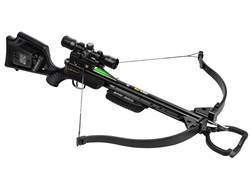 TenPoint GT Flex Recurve Crossbow Package with 3X Multi-Line Scope and ACUdraw 50 Black