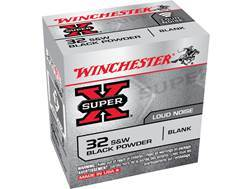 Winchester Super-X Ammunition 32 S&W Black Powder Blank Box of 50