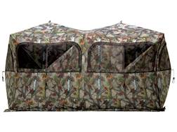 "Barronett Beast 650 6 Man Ground Blind 160"" x 90"" x 80"" Polyester Bloodtrail Camo"