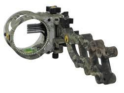 "Trophy Ridge React 5-Pin Bow Sight .019"" Pin Diameter Right Hand Polymer Realtree APG Camo"
