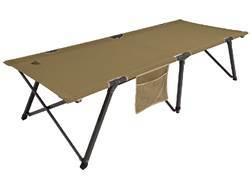 ALPS Escalade Quick-Set Camp Cot Aluminum and Polyester Khaki