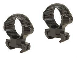 "Millett 1"" Angle-Loc Windage Adjustable Weaver-Style Rings Engraved Gloss"