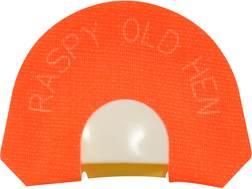 H.S. Strut Tone Trough Premium Flex Raspy Old Hen Diaphragm Turkey Call
