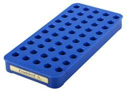 Frankford Arsenal Perfect Fit Reloading Tray #4S 357 Sig, 40 S&W, 10mm 50-Round Blue