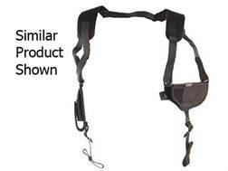 "Uncle Mike's Pro-Pak Horizontal Shoulder Holster Ambidextrous Medium Frame Semi-Automatic 3"" to 4"" Barrel Nylon Black"