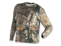 Browning Youth Wasatch T-Shirt Long Sleeve Cotton Realtree Xtra Camo
