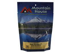 Mountain House Family Size Beef Stroganoff with Noodles Freeze Dried Food 5 Servings