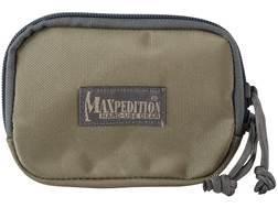 Maxpedition Hook-&-Loop Fastener Zipper Pocket Insert Nylon Khaki and Foliage Green