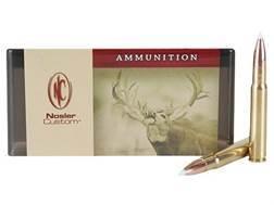 Nosler Custom Ammunition 338-06 A-Square 180 Grain AccuBond Spitzer Box of 20