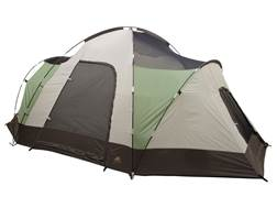 "ALPS Mountaineering Meramac Three-Room Tent 10' x 16' x 6'2"" Polyester Green and White"