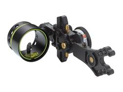 HHA Sports Optimizer Lite King Pin XL5519 1-Pin Bow Sight with Rheostat Scope Right Hand Black