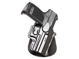 Fobus Paddle Holster Right Hand CZPO1, FN Forty-Nine, HK USP Compact 9mm, 40, 45, HK USP 9mm, 40, S&W Enhanced Sigma VE, E, G Polymer Black
