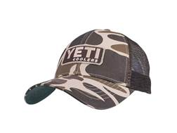 YETI Trucker Hat Custom Camo w/ Patch Cotton