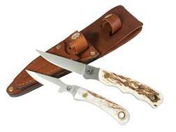 Knives of Alaska Jaeger/Cub Bear Combination Fixed Blade Knife Set D2 Tool Steel Blades