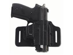Galco Tac Slide Belt Holster Right Hand1911 Government, Commander Leather and Kydex Black