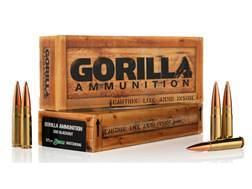 Gorilla Ammunition 300 AAC Blackout 125 Grain Sierra MatchKing Box of 20