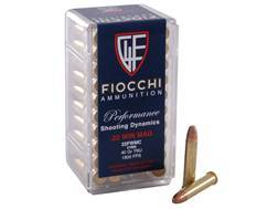 Fiocchi Shooting Dynamics Ammunition 22 Winchester Magnum Rimfire (WMR) 40 Grain Total Metal Jacket