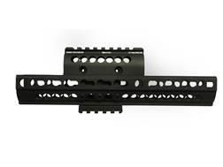 Midwest Industries 2-Piece Extended KeyMod Handguard AK-47, AK-74 Aluminum Black