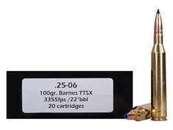 Doubletap Ammunition 25-06 Remington 100 Grain Barnes Tipped Triple-Shock X Bullet Lead-Free Box of 20