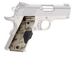 Crimson Trace Lasergrips 1911 Officer Front Activation Polymer with Kimber Logo