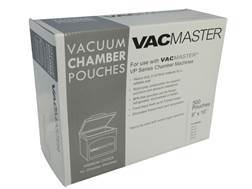 "VacMaster 8"" x 10"" 3 Mil Commercial Vacuum Sealer Pouch Pack of 500"