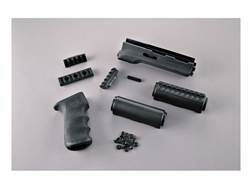 Hogue 2-Piece OverMolded Grip and Handguard AK-47, AK-74 Stamped Receivers Rubber Black