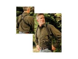 "Uncle Mike's Sidekick Vertical Shoulder Holster Medium and Large Double Action Revolvers 7"" to 8.5"" Barrel Nylon Black"