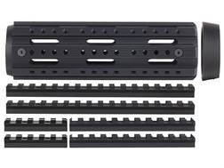 Advanced Technology 2-Piece Modular Rail Handguard 8-Sided with Combo Accessory Rail Package AR-15 Carbine Length Aluminum Black