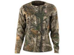 Browning Women's Wasatch T-Shirt Long Sleeve Cotton Realtree Xtra Camo