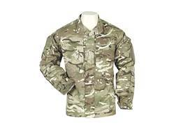 Military Surplus British Warm Weather Field Jacket Multi-Terrain Pattern Camo