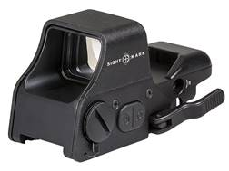 Sightmark Ultra Shot Plus Red Dot Sight 1x Selectable Reticle with Quick Detachable Weaver Mount ...