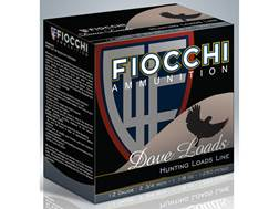 "Fiocchi Game & Target Ammunition 12 Gauge 2-3/4"" 1-1/8 oz #7-1/2 Shot"