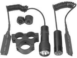 Barska Tactical Laser Sight and Flashlight Kit with Rifle Scope Mount Matte