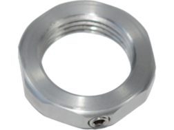 L.E. Wilson Full Length Die Stainless Steel Lock Nut with Set Screw