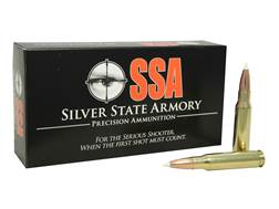 Silver State Armory Ammunition 308 Winchester 165 Grain Nosler AccuBond Box of 20